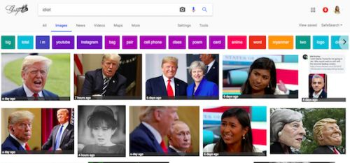 Type 'Idiot' Into Google Images And Oh, Look Who It Is
