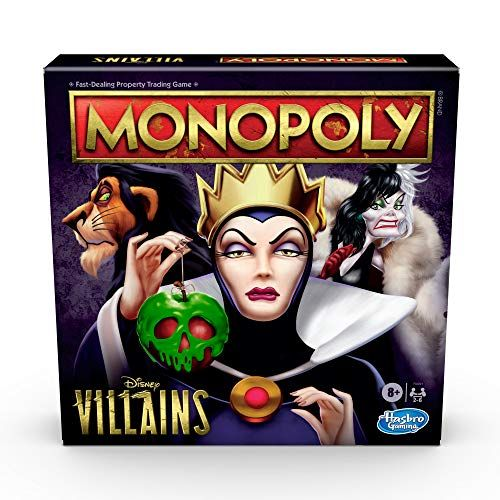 Disney Villains Monopoly Is Here, Because We All Know The Best Characters Are The Evils Ones
