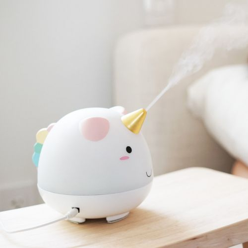 You Need This Magical Unicorn Humidifier That Glows In The Dark