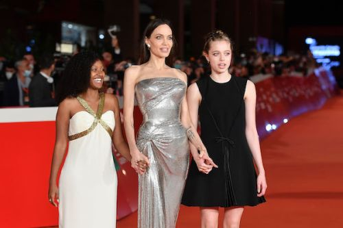 Angelina Jolie's Kids Slayed Again At Another 'Eternals' Premiere