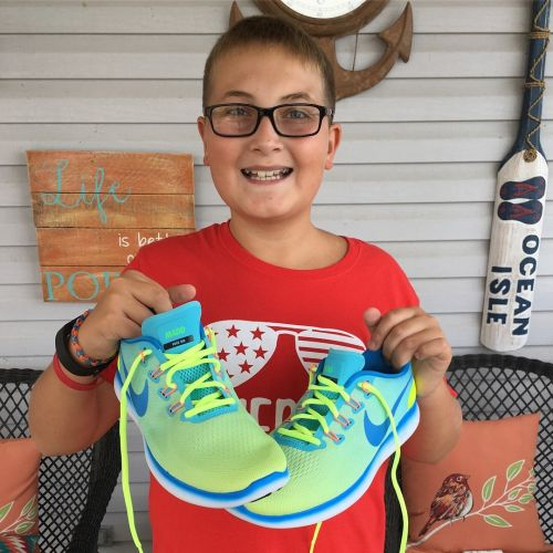 Project Outrun empowers Akron Children's Hospital cancer survivors through custom-designed running shoes