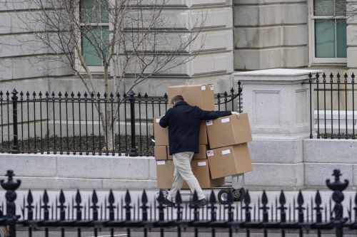 There Are So Many Moving Boxes At The White House And Praise Be