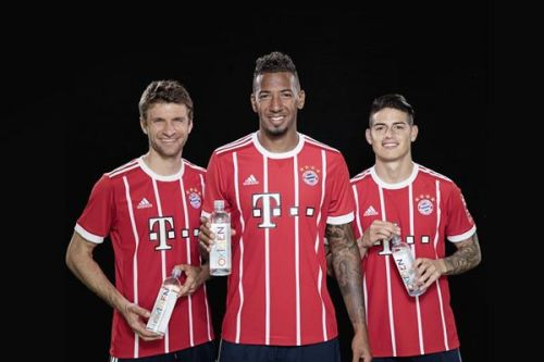 Oxygen water company says its research is what sold FC Bayern on partnership