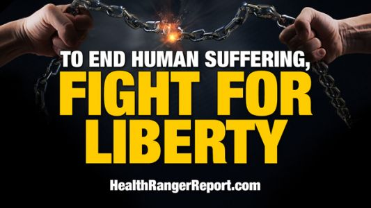 Health Ranger: To end human suffering, we need to fight for LIBERTY