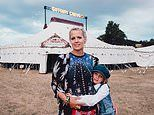 Single mother who founded a travelling circus reveals how she is fighting cancer for the third time
