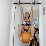 This Trainer's Abs and Arms Pumpkin Pull-Up Challenge Is Scary-Good - Are You Up For It?
