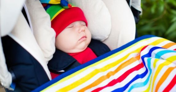 AAP: Babies Should NOT Sleep In Car Seats When Not Traveling