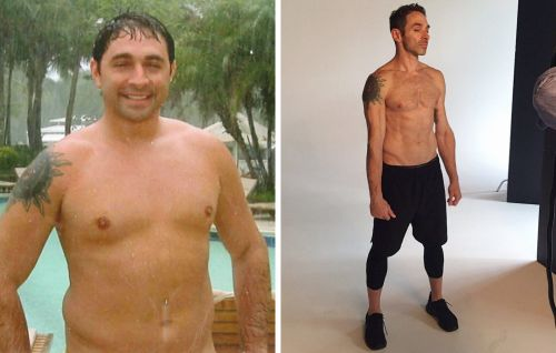 The Workout That Helped This Man Lose 60 Pounds and Sculpt Six-Pack Abs