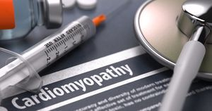 Diabetes with cardiomyopathy confers elevated risk for HF