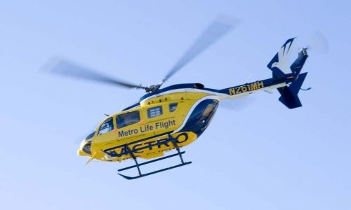 Giving plasma in helicopters, before hospital, may save trauma patients