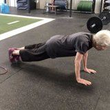 This 77-Year-Old 'Fighter' and CrossFitter Makes a Perfect Push-Up Look Easy
