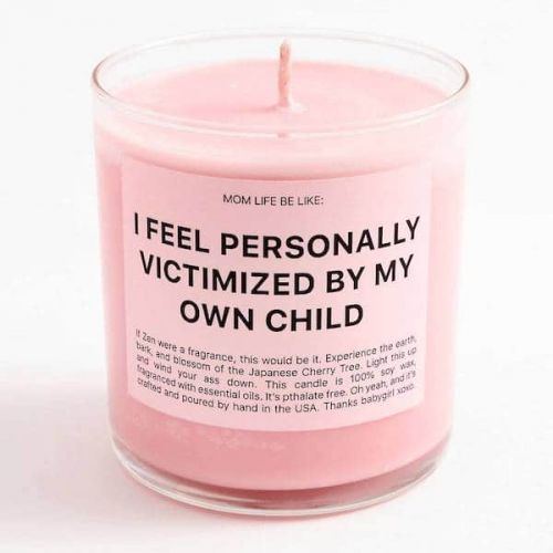 This Candle Will Make You Feel Seen On Days When Your Kids Come For You