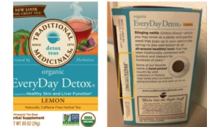 Wegmans recalls detox tea because of Salmonella risk