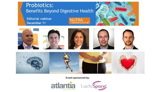 Experts to discuss benefits of probiotics beyond digestive health in upcoming webinar