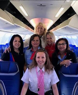 Southwest Airlines Celebrates All Female Flight Crew On Twitter, Haters Show Up