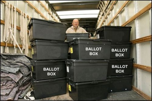 Wisconsin authorities recover trove of pro-Trump ballots that were discarded in a ditch
