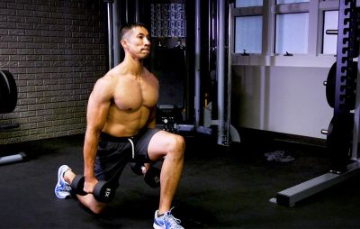 Work Every Muscle In Your Legs With This Lunge Circuit