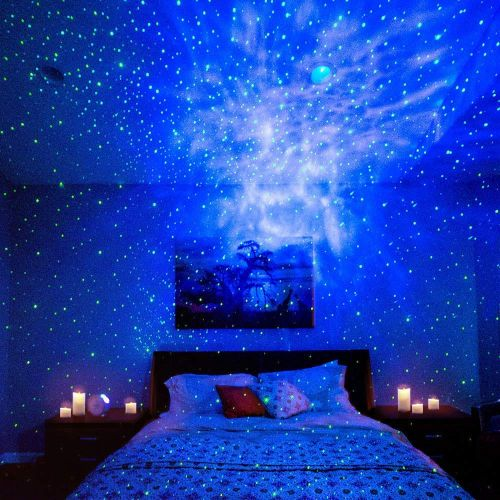 This Projector Brings A Dreamy Full Night Sky And Nebula Into Any Room