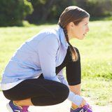 The Perfect Hack For Exercising With Long Hair