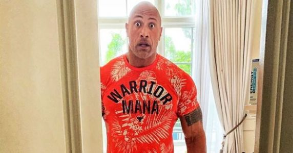 We're All The Rock Reacting To His Daughter Asking Him To Assemble A Barbie Dreamhouse