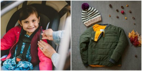 Even More Ways To Keep Your Child Warm AND Safe In The Car Seat This Winter