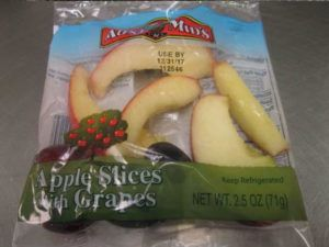 Listeria Recall for Fresh Pac Apple Slices