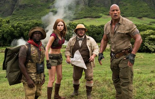 Is The Rock Ripped Enough To Make It Out Of 'Jumanji' Alive?