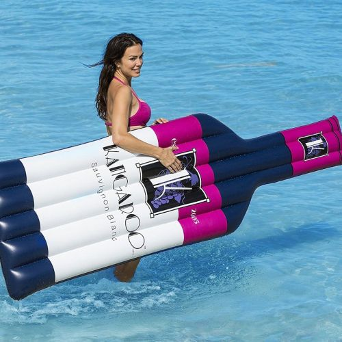 Wine Bottle Pool Floats Are The Boozy Summer Accessory You Need