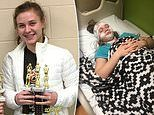 Narcoleptic 15-year-old suffers sudden muscle paralysis if she giggles