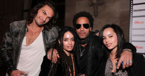 Lenny Kravitz Calls Jason Momoa 'A Brother' In Their Blended Family