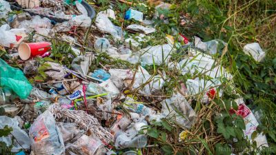 Humans have already manufactured 8.3 billion tons of plastic with no end in sight. landfill galore