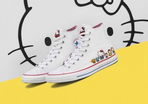 Hello Kitty Converse Are Here To Make Your Shoe Collection Way Cuter