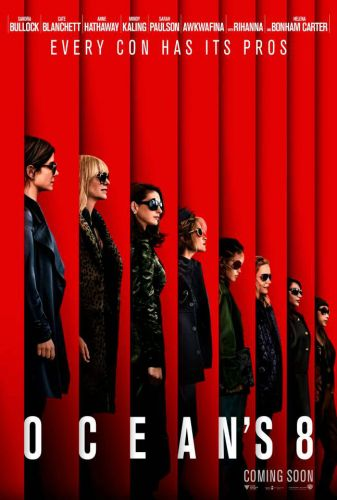 The First Poster For The All-Female 'Ocean's 8' Is Complete Perfection