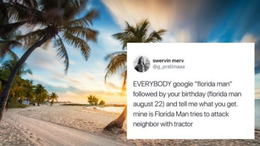 Viral Florida Man Google Challenge Has Us All Asking 'WTF Florida?'