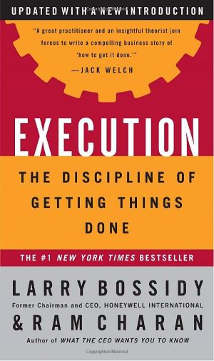 Success Tips - Execution is The Discipline of Getting Things Done