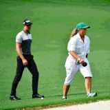 This Female Caddie - and Living Legend - Is on the Green Once Again at the Masters