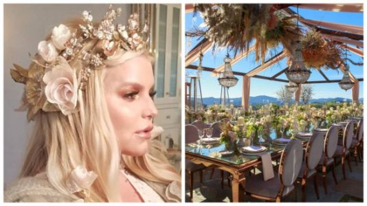 Jessica Simpson's Baby Shower Photos Are Incredibly Dreamy