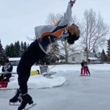 No Way! This Professional Figure Skater on TikTok Does Literal Backflips on the Ice