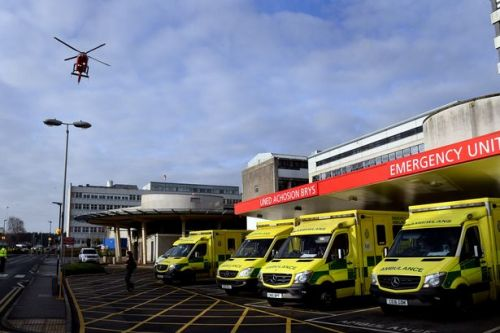 The long A&E waits that highlight the pressure the NHS is under this winter