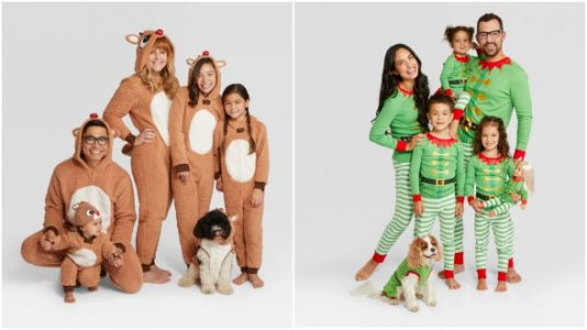Target's Selling Tons Of Holiday-Themed Matching Family Pajamas