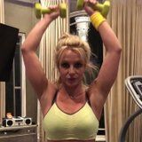 Britney Spears Proves That You Don't Need Heavy Weights to Sculpt Sexy Arms