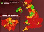 Covid UK: Infection rate lower in 15% councils than BEFORE September