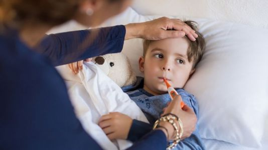 The Not-So-Scary Reasons Why Your Kid Has A Fever