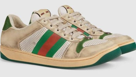 Gucci Is Selling Pre-Dirtied Sneakers For Almost $900