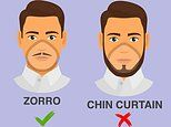 Men with mustaches may be at greater risk of coronavirus, CDC graphic warns