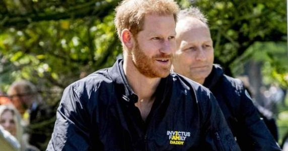 Prince Harry Wore A Jacket That Said 'Daddy' At The Invictus Games