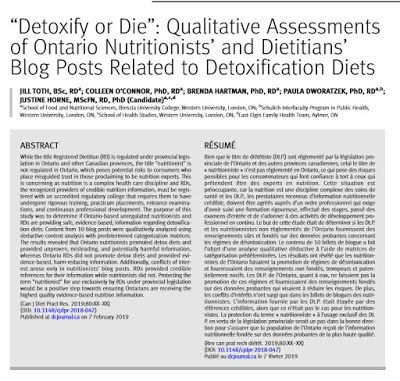Guest Post: The Truth about Detox Diets