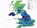 Coronavirus UK: Heatmaps show how quickly second wave spread