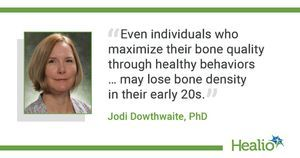 BMD loss seen in early adulthood for women, despite healthy behaviors