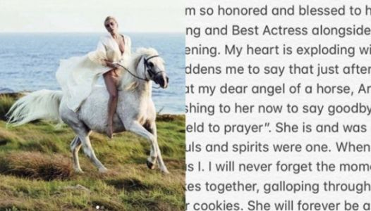 Lady Gaga's Goodbye Tribute To Her Beloved Horse Will Break Your Entire Heart